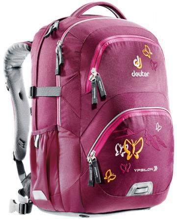 Школьный рюкзак Deuter YPSILON БОРДОВАЯ БАБОЧКА 28 л бордовый велорюкзак с отделением для ноутбука deuter giga bike 28 л 80444 3980 сине голубой