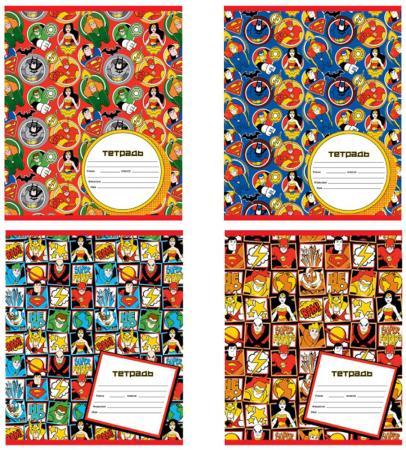 Тетрадь школьная Action! DC COMICS 12 листов — скрепка DC-AN 1201/5 тетрадь общая action dc comics 48 листов клетка скрепка dc an 4801 5 1