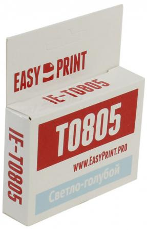 Фото - Картридж EasyPrint IE-T0805 C13T0805 для Epson Stylus Photo P50/PX660/PX720WD/PX820FWD голубой epson картридж epson original t079a4a10 комплект для p50 px660