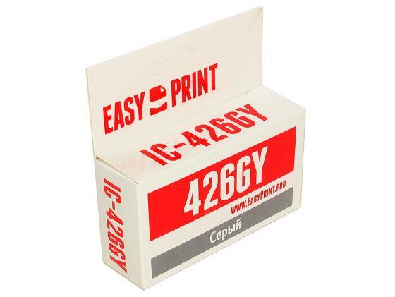 Картридж EasyPrint CLI426GY для Canon PIXMA MG6140/MG6240/MG8140/MG8240 серый IC-CLI426GY картридж easyprint cli426gy для canon pixma mg6140 mg6240 mg8140 mg8240 серый ic cli426gy