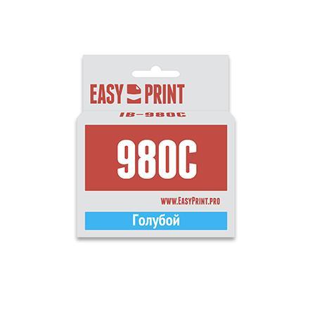 Картридж EasyPrint LC-1100C/980C для Brother DCP-145C/375CW/MFC-250C/990CW голубой IB-980C