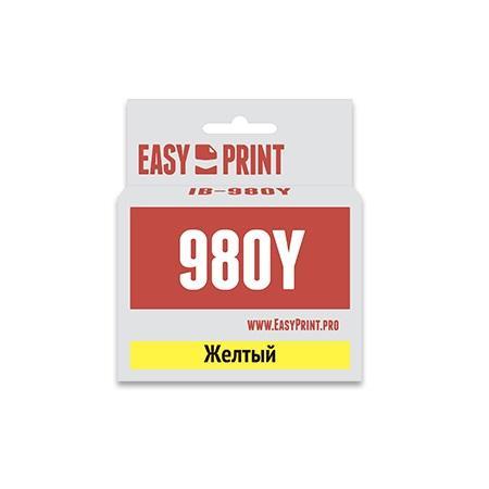 Картридж EasyPrint LC-1100Y/980Y для Brother DCP-145C/375CW/MFC-250C/990CW желтый IB-980Y akg y 20u