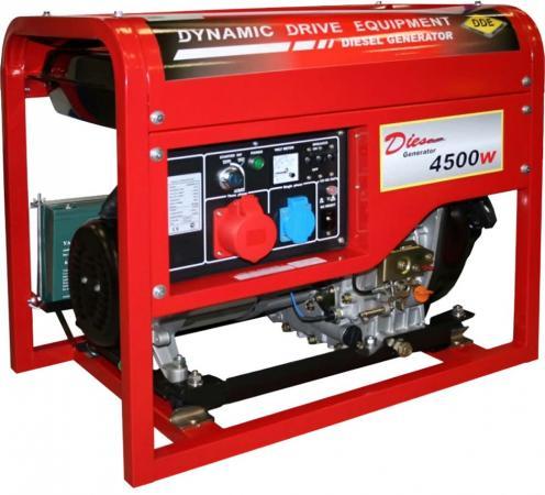 Генератор DDE DDG6000-3E бензиновый 10 л
