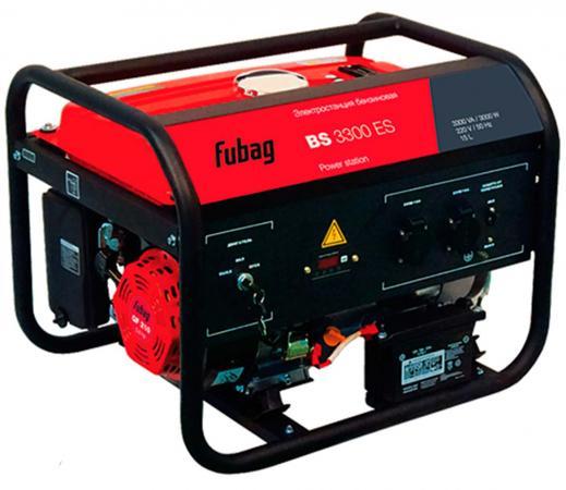 Генератор Fubag BS 3300 ES бензиновый бензиновый генератор fubag ti 1000