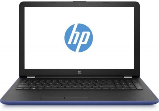 Ноутбук HP 15-bs042ur 15.6 1366x768 Intel Pentium-N3710 500 Gb 4Gb Intel HD Graphics 405 синий Windows 10 Home 1VH42EA ноутбук dell vostro 3558 15 6 1366x768 intel pentium 3825u 500 gb 4gb intel hd graphics черный linux 3558 4483