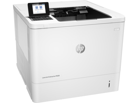 Принтер HP LaserJet Enterprise M608n K0Q17A ч/б A4 61ppm 1200x1200dpi 512Mb USB Ethernet мфу hp laserjet enterprise mfp m527f f2a77a ч б a4 43ppm 1200x1200dpi duplex ethernet usb