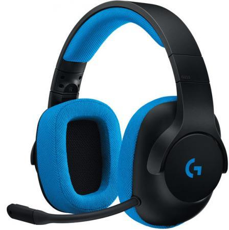 Гарнитура Logitech G233 Prodigy 981-000703 синий черный наушники с микрофоном logitech g231 prodigy