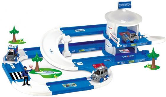 Игровой набор WADER Kid Cars 3D полиция 53320 полесье полесье детский гараж для машинок wader kid cars 3d 3 этажа