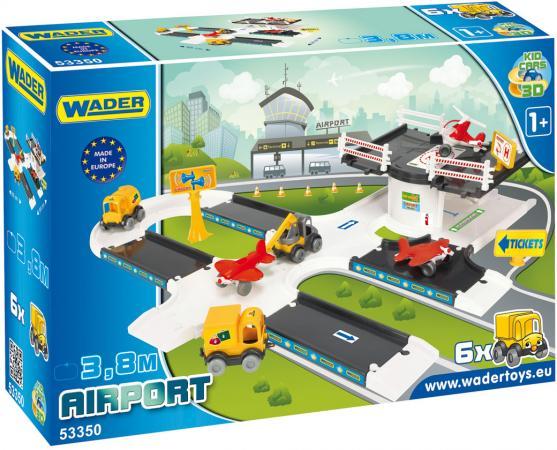Игровой набор WADER Kid Cars 3D аэропорт 53350 игровой набор wader kid cars 3d аэропорт 53350