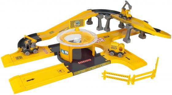 Игровой набор WADER Kid Cars 3D стройка 53340 игровой набор wader kid cars 3d аэропорт 53350