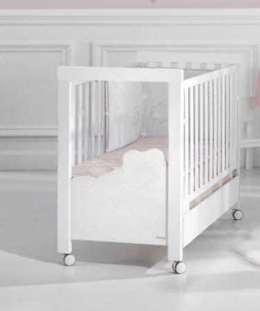 Кроватка-качалка Micuna Dolce Luce Relax Plus (white)