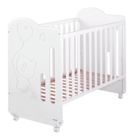 Кроватка-качалка Micuna Globito (white)