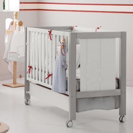 где купить Кроватка-качалка Micuna Neus Relax Big (white/grey) по лучшей цене