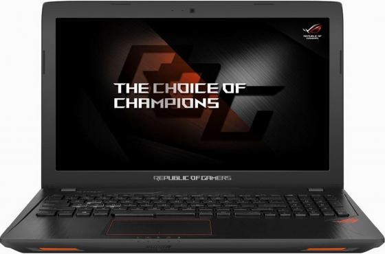 Ноутбук ASUS ROG GL553VE-FY037 15.6 1920x1080 Intel Core i7-7700HQ 1 Tb 128 Gb 8Gb nVidia GeForce GTX 1050Ti 4096 Мб черный DOS 90NB0DX3-M01590 ноутбук asus rog gl553ve 90nb0dx3 m00720 90nb0dx3 m00720