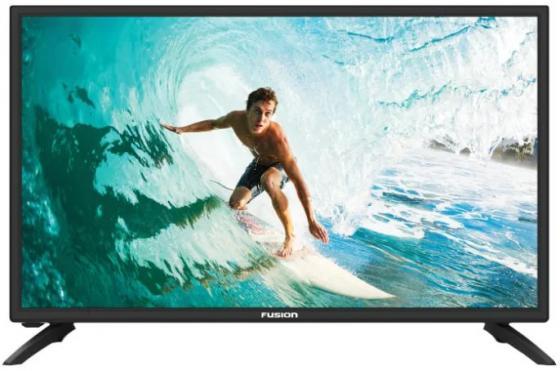 "Телевизор LED 22"" FUSION FLTV-22N100 черный 1920x1080 50 Гц USB HDMI"