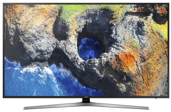Телевизор LED 75 Samsung UE75MU6100UX черный 3840x2160 100 Гц Wi-Fi Smart TV RJ-45 samsung 2160 fix v 12 коротрон