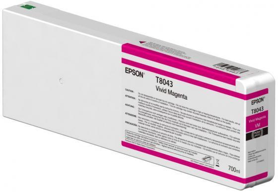 Картридж Epson C13T804300 для Epson CS-P6000 пурпурный original cc03main mainboard main board for epson l455 l550 l551 l555 l558 wf 2520 wf 2530 printer formatter