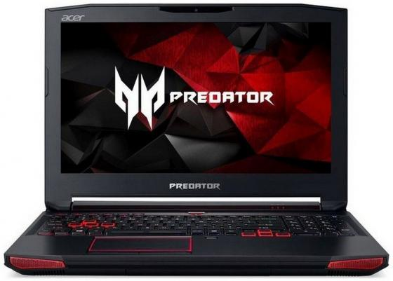 Ноутбук Acer Predator G9-593-76RJ 15.6 1920x1080 Intel Core i7-7700HQ 1Tb + 128 SSD 16Gb nVidia GeForce GTX 1070 8192 Мб черный Windows 10 Home NH.Q1ZER.005 ноутбук acer predator gx 791 7966 17 3 1920x1080 intel core i7 6820hk 1tb 256 ssd 16gb nvidia geforce gtx 980m 8192 мб черный linux nh q12er 002