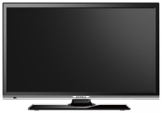 Телевизор LED 22 Supra STV-LC22LT0010F черный 1920x1080 50 Гц USB HDMI VGA SCART led телевизор supra stv lc24lt0010w