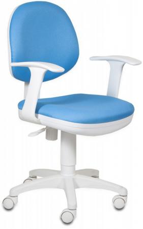 Кресло Бюрократ CH-W356AXSN/BLUE белый/синий