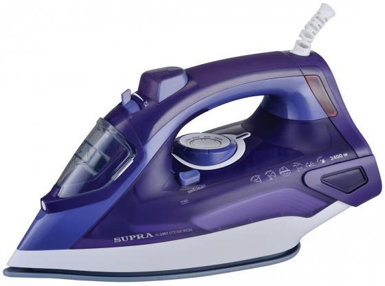 Утюг Supra IS-2401 2400Вт фиолетовый утюг supra is 2740ps 1600вт голубой