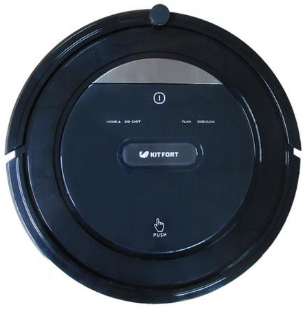 Робот-пылесос KITFORT KT-516 сухая уборка чёрный