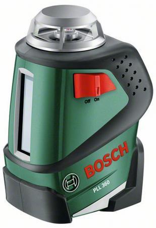 Лазерный нивелир Bosch PLL 360 SET + штанга TP 320 0603663003 нивелир bosch pll 2 set 603663401