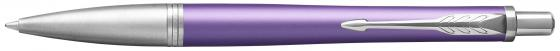 Шариковая ручка автоматическая Parker Urban Premium K311 Violet CT синий M 1931623 перьевая ручка parker urban premium f310 dark blue ct синий f 1931563