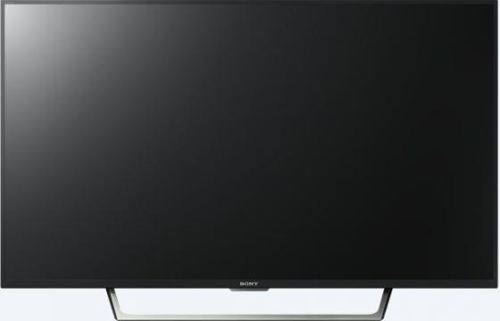 Телевизор LED 49 SONY KDL49WE755BR черный 1920x1080 Wi-Fi Smart TV SCART RJ-45 S/PDIF телевизор led 40 bbk 40lex 5027 t2c черный 1366x768 50 гц wi fi smart tv vga rj 45