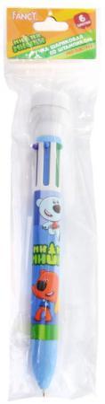 Шариковая ручка автоматическая Action! Fancy разноцветный со штампиком шариковая ручка автоматическая action fancy разноцветный fbp201 10 8
