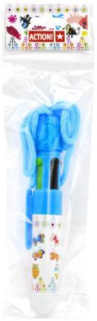 Шариковая ручка автоматическая Action! ABP202/4 разноцветный на шнурке цены