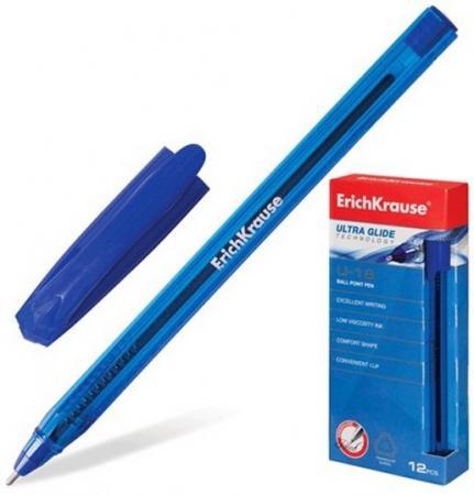 Ручка шариковая Erich Krause 32534 синий 1 мм 32534 erich krause ручка шариковая megapolis concept ek 31 синяя цвет корпуса синий