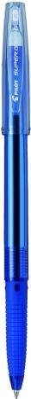 Шариковая ручка Pilot Super Grip G синий 0.7 мм BPS-GG-F-L шариковая ручка pilot acroball синий 0 7 мм bpab 25f l bpab 25f l