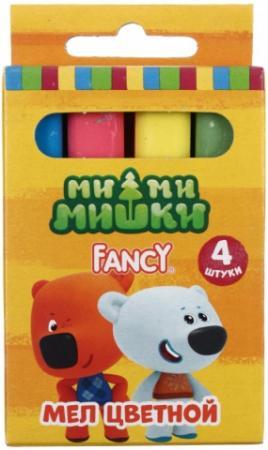 Мелки школьные Action! FANCY 4 штуки 4 цвета от 3 лет восковые мелки луч фантазия 24 цвета 24 штуки от 3 лет
