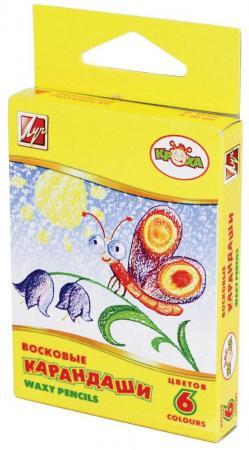 Масляные карандаши ЛУЧ КРОХА 6 штук 6 цветов от 3 лет карандаши масляные луч фантазия 6 цветов 25с1519 08
