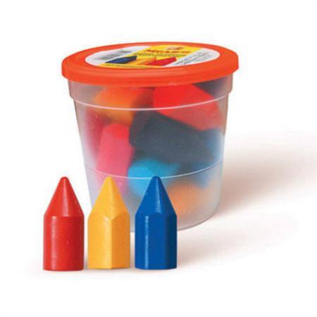 Набор мелков ЛУЧ 12С877-08 15 штук 15 цветов от 4 лет кисти набор 15 штук пифагор 200504