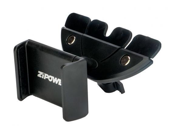 Автомобильный держатель ZIPOWER PM 6616 черный компрессор автомобильный zipower с манометром pm 6505