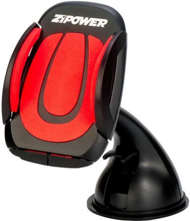 Автомобильный держатель ZIPOWER PM 6624 черный компрессор автомобильный zipower 160w