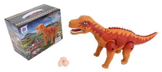 Интерактивная игрушка Shantou Gepai Динозавр от 3 лет коричневый интерактивная игрушка shantou gepai телефон обучающий музыкальные инструменты от 3 лет жёлтый 820