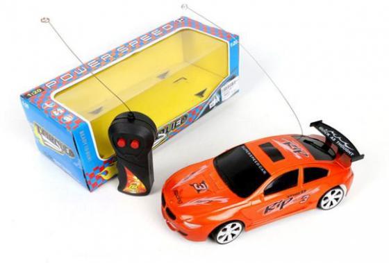 Машинка на радиоуправлении Shantou Gepai 588-4 оранжевый от 3 лет пластик кровать машина бмв 70х160