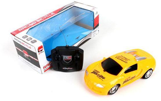 Машинка на радиоуправлении Shantou Gepai 633-22 желтый от 6 лет пластик радиоуправляемая модель гоночного варианта mini countryman 1 24
