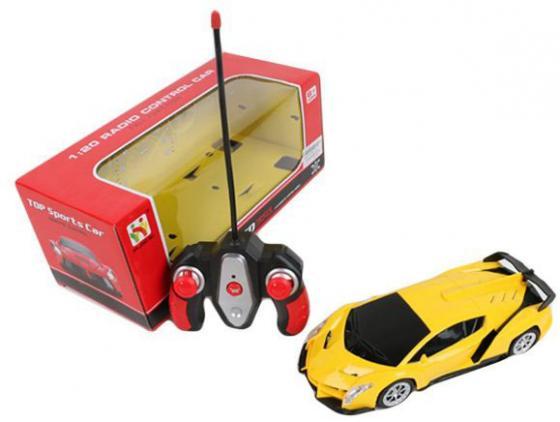 Машинка на радиоуправлении Shantou Gepai 565-X3 желтый от 6 лет пластик