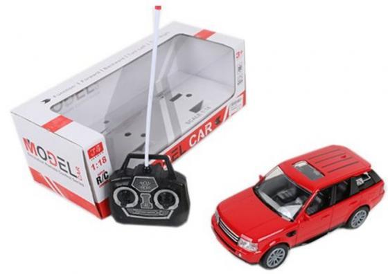 Машинка на радиоуправлении Shantou Gepai Model Car Джип красный от 3 лет пластик 4 канала, свет, 1:18, 501 1 18 diecast model for jeep cherokee 2016 blue suv alloy toy car collection gifts