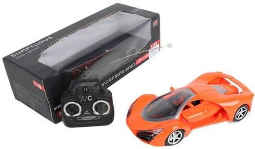 Машинка на радиоуправлении Shantou Gepai Sumptuous оранжевый от 3 лет пластик машинка на радиоуправлении shantou gepai sumptuous оранжевый от 3 лет пластик