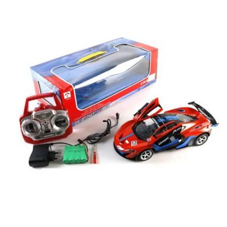 Машинка на радиоуправлении Shantou Gepai 6927715385120 красный от 3 лет пластик машинка на радиоуправлении shantou gepai гонка пластик от 3 лет разноцветный