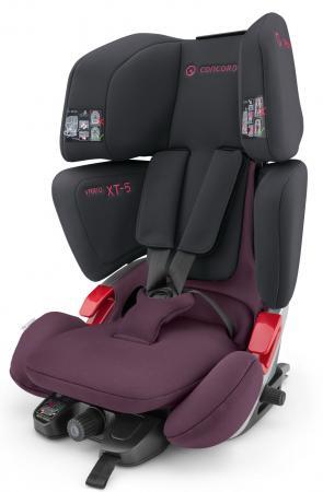 Автокресло Concord Vario XT-5 (black-pink 2017) цены онлайн