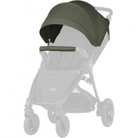 Капор для детской коляски Britax B-Agile/B-motion 4 Plus (olive green) britax капор sand beige для коляски b agile и b motion 4 plus