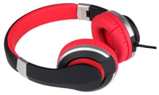 Наушники Deppa Prime Line 4011 черный красный