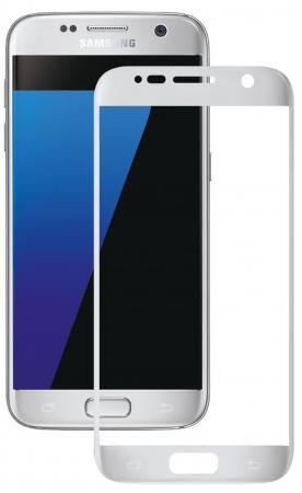 Защитное стекло Deppa 3D для Samsung Galaxy S7 0.3 мм серебристый 62002 цена