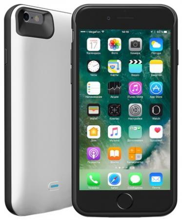Чехол-аккумулятор Deppa NRG Case для iPhone 6S iPhone 6 белый чехол аккумулятор deppa nrg case 2600 mah для iphone 7 белый 33520